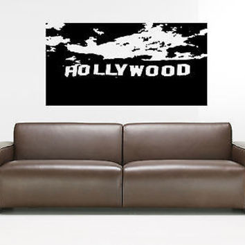Hollywood Wall Decal Hollywood Sticker Movie Star Room Living Room Decor 3732