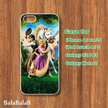 Tangled - iPhone  4 case, iphone 5 Case,iPod  touch 4 case , iPod touch 5 case , Samsung Galaxy S3 , S2 case