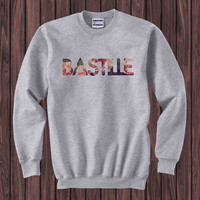 bastille flower sweater Sweatshirt Crewneck Men or Women Unisex Size