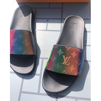 shosouvenir Louis Vuitton LV Brilliant series slippers