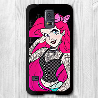 Samsung Galaxy s5 case - Punk Ariel Princess - Galaxy s5 cover ( Rubber / Hard Case For Choice)