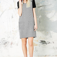 Vintage O&O Dogtooth Pinafore - Urban Outfitters