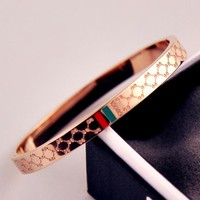 GUCCI Women Fashion Bracelet Jewelry