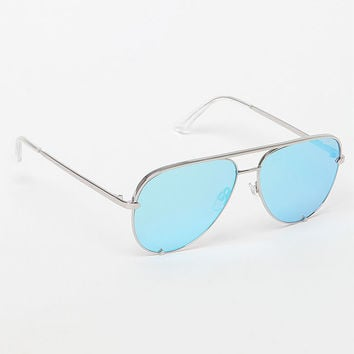 Quay x Desi Perkins High Key Aviator Sunglasses at PacSun.com