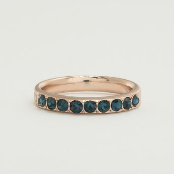Pave Rose Gold Ring - Montana