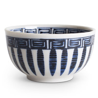 Blue Leaves Bowl