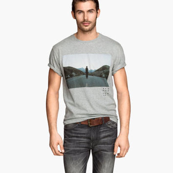H&M T-shirt with Printed Design $9.95