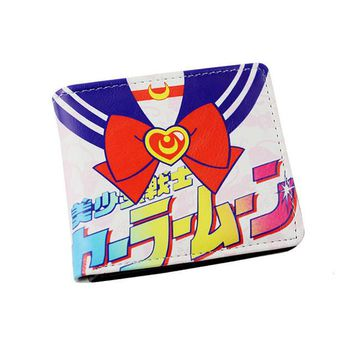 Sailor Moon Japanese Short Style Wallet