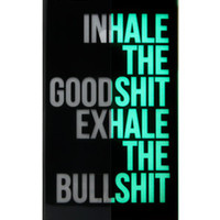Yamamoto Industries INHALEEXHALE GLOWINTHEDARK iPhone 5 Case