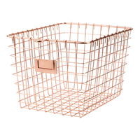 Copper Wire Gym Basket - Small