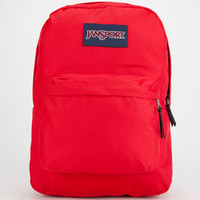 Jansport Superbreak Backpack Fluorescent Red One Size For Men 25851430001