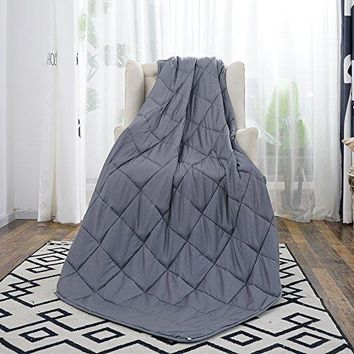 Weighted Blanket for Adults with Anxiety 15 lbs