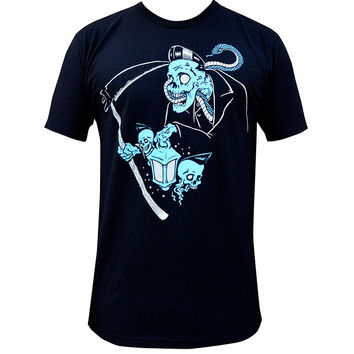 Lowbrow Art Company Ghost Reaper Mens Tee