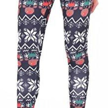 Jescakoo Womens Patterned Leggings for Fall and Winter Varity of Prints