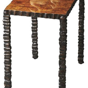 Butler Rustic Wood Side Table by Butler Specialty Company 1271120