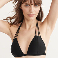 Womens Strappy Triangle Top | Womens Swimwear | Abercrombie.com
