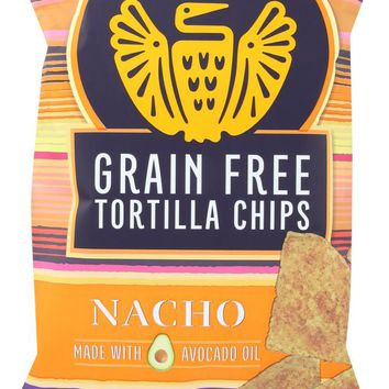 SIETE: Tortilla Nacho Chips Grain Free, 5 oz