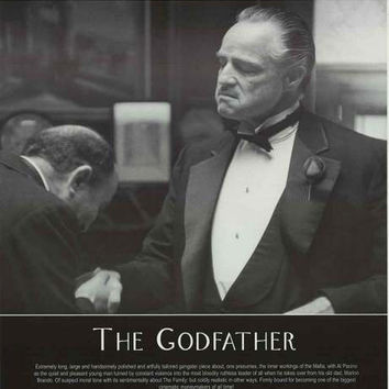The Godfather Film Review Poster 24x34