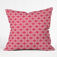Caroline Okun Trelliage Throw Pillow