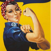 Rosie the Riveter Poster 24x36