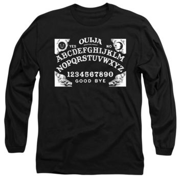 Ouija Long Sleeve T-Shirt Board Black Tee