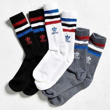 adidas-roller-crew-sock-3-pack-urban-outfitters number 1
