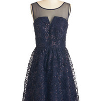 ModCloth Mid-length Sleeveless A-line Incomparable Class Dress