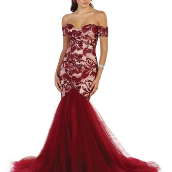 Homecoming Long Dress Formal Evening Prom Gown