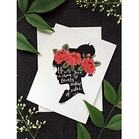 Crown of Beauty card