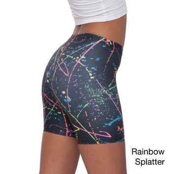 American Apparel Women's Printed Nylon Tricot Cycle Short (XS)   Overstock.com