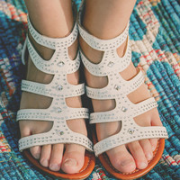 Tag You're It Sandal - White