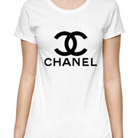 Chanel Paris Logo Coco Custom Women T Shirt SALE CH05