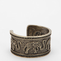 Vanessa Mooney Elephant Cuff Bracelet