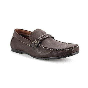Polar Fox Men's 30229 Casual Driving Moccasins Shoes