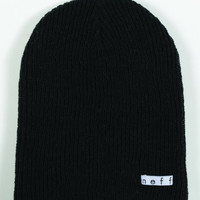 neff Men's Daily Reversible Beanie, Black/Gray, One Size