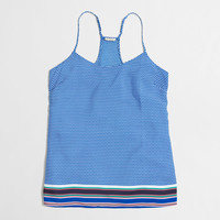 Factory printed racerback camisole : Sleeveless | J.Crew Factory