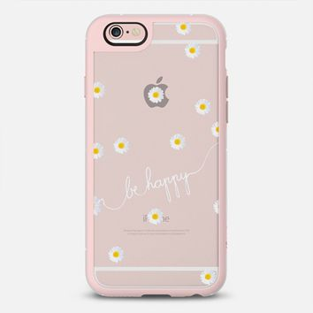 HAPPY DAISY CRYSTAL CLEAR iPhone 6s case by Monika Strigel | Casetify