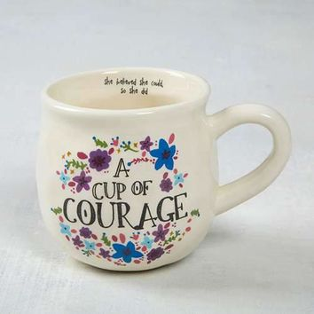 Happy Mug - A Cup of Courage