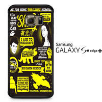 Firefly Serenity Collage Quotes A0604 Samsung Galaxy S6 Edge Plus Case