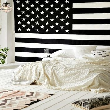 American Flag Magical Thinking Wall Hanging Tapestry