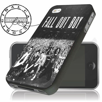 Fall Out Boy Concert iPhone 4/5/5c/6 Plus Case, Samsung Galaxy S3 S4 S5 Note 3 4 Case, iPod 4 5 Case, HtC One M7 M8 and Nexus Case