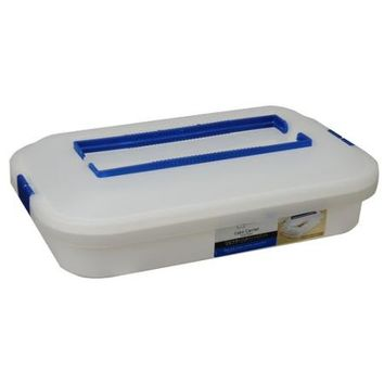 Mainstays Rectangular Cake Carrier - Walmart.com