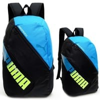 """PUMA"" Fashion Casual Sport Shoulder School Bag Backpack six color"