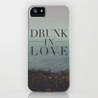 Beyoncé: Drunk in Love iPhone & iPod Case by Leah Flores