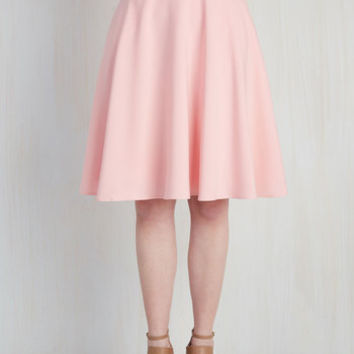 Just this Sway Skirt in Carnation | Mod Retro Vintage Skirts | ModCloth.com