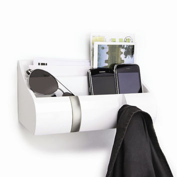 Umbra Cubby Wall Organizer in White (Set of 3)
