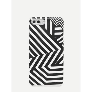 Striped iPhone Case