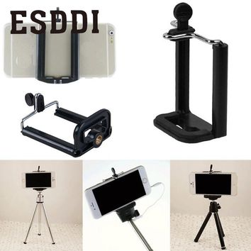 Esddi Mobile Clip Clamp Holder U Slot Mount Stand Adapter Spring Retractable Professional Photograph Accessories Gift For Phone