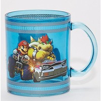 Mario and Bowser Mario Kart Coffee Mug - 16 oz. - Spencer's