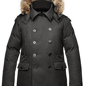 Nobis Mens Peacoat KATO-Crosshatch Black